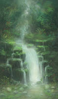 Waterfall by eyreart