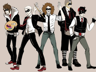 MCR - The Umbrella Academy by bunnyluz