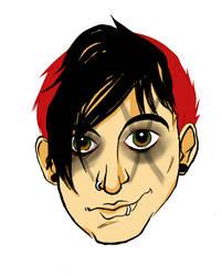 MCR - Frankie cartoon