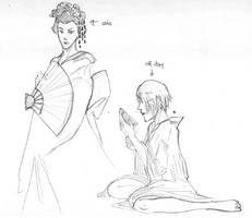 geisha kams