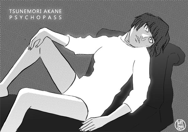 Psycho Pass - Akane by bunnyluz
