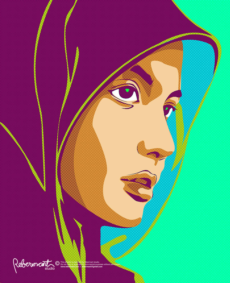 wanita solehah by singpentinkhappy