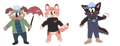 adopts open