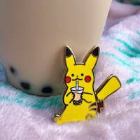 Pikachu Enamel Pin for sale!