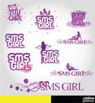 Logos - sms girl