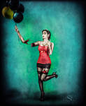 Ballon Zombie Pin-up