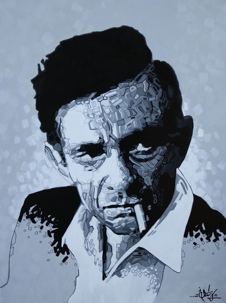 Johnny Cash by STiX2000