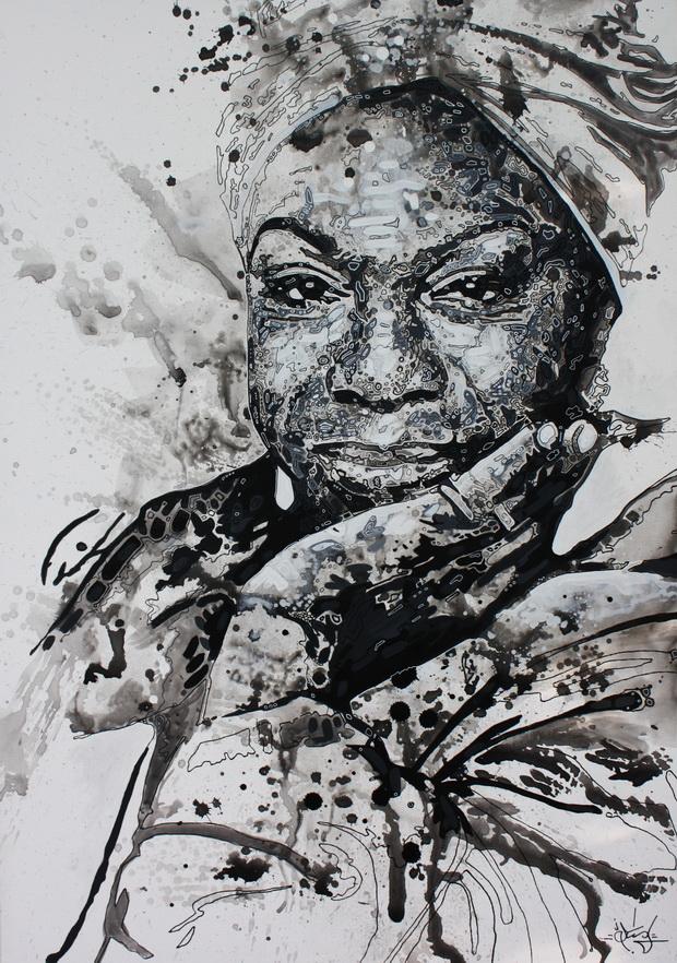 Nina Simone by STiX2000