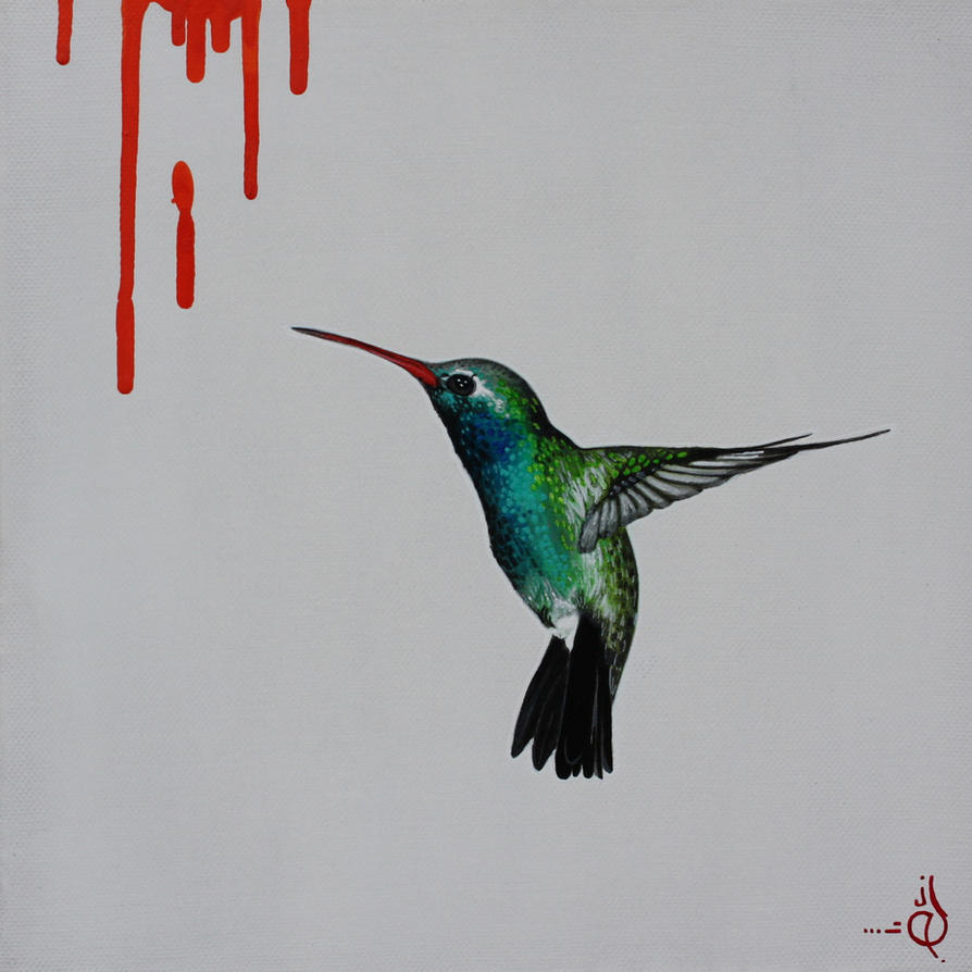 Hummingbird Orange by STiX2000