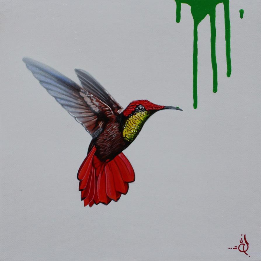 Hummingbird Green by STiX2000