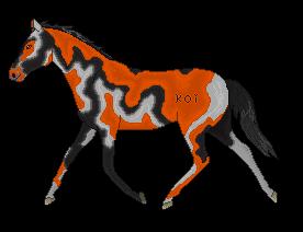 Koi Horse by CloudedLatha