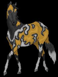 Horse (Wild dog) by CloudedLatha