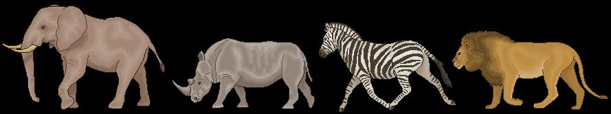 African Wildlife by CloudedLatha