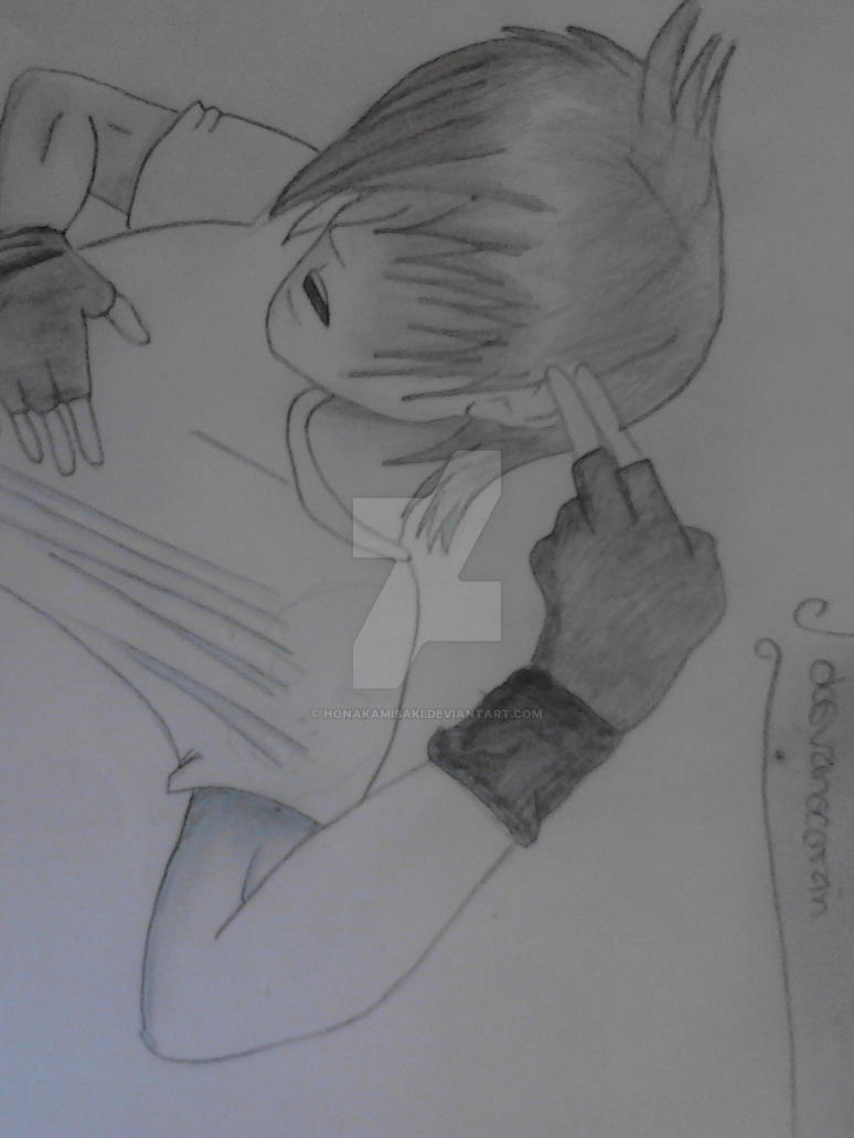 Dibujo De Emo Anime By Honakamisaki On Deviantart