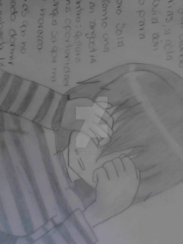 Dibujos Anime: Anime Triste Dibujo By HonakaMisaki On DeviantArt