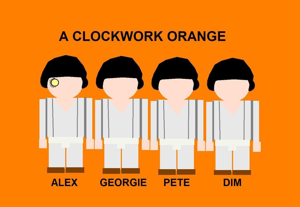 A Clockwork Orange Droogs Beachskin Outrole Vector by EspioArtwork