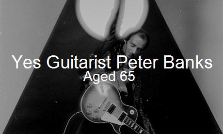Yes guitarist Peter Banks dies aged 65 JPEG by EspioArtwork