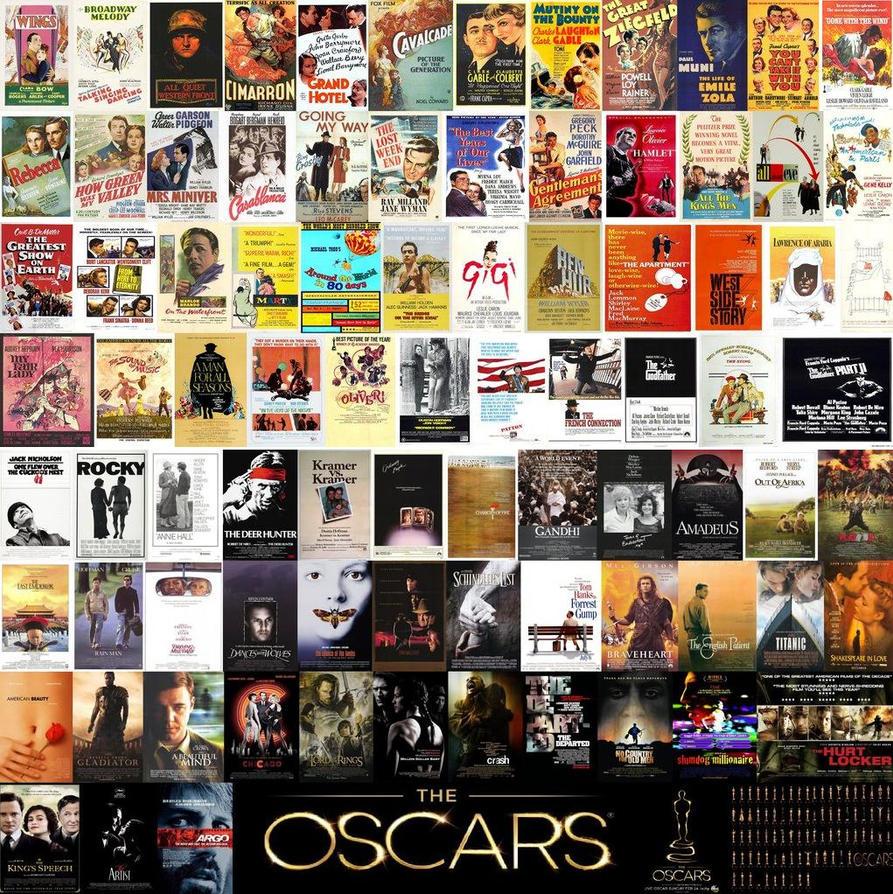 Eighty-Five Best Winner Winning Oscar Titles by EspioArtwork
