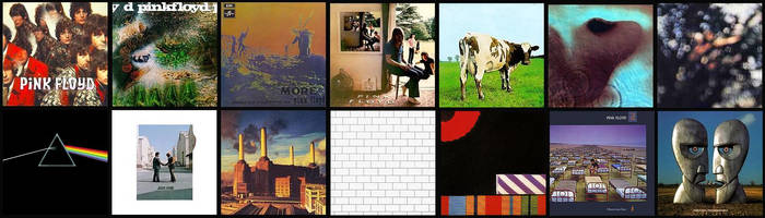 Pink Floyd 14 Albums Remastared JPEG by EspioArtwork