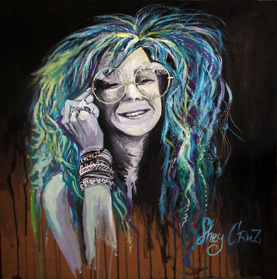 Janis Joplin by SheyRainbow