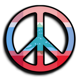 Peace to you, no matter where you are. by timesoldroman