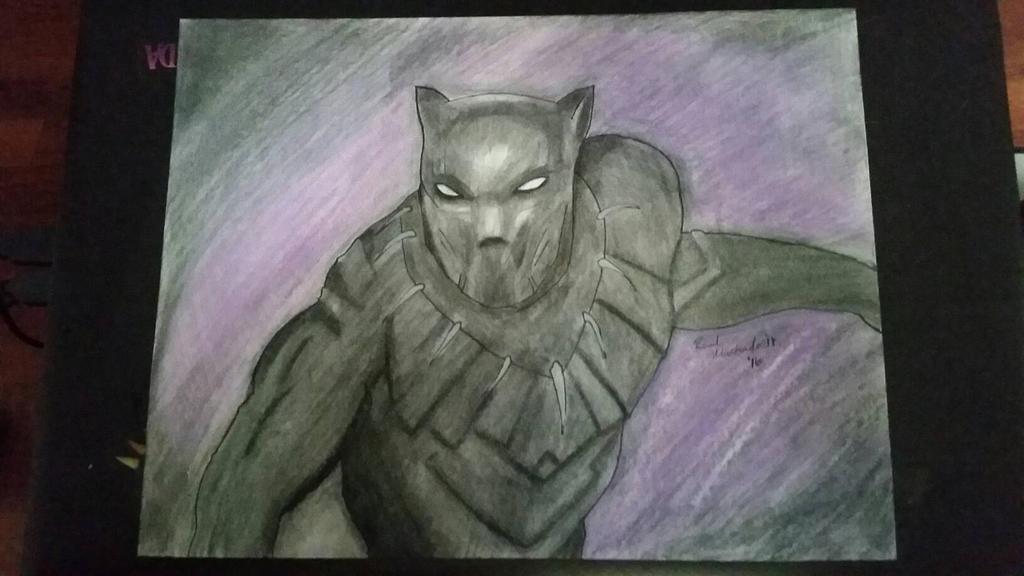 Black Panther By Portela On Deviantart: Black Panther By Hetsu On DeviantArt
