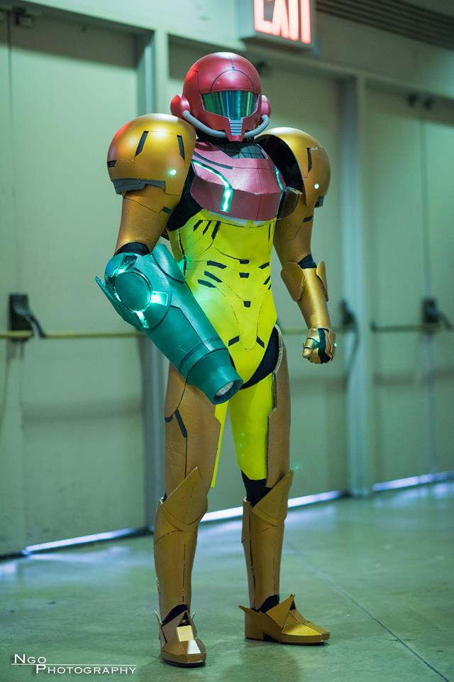 Samus Cosplay at Long Beach Comic Con 2015 by d-slim