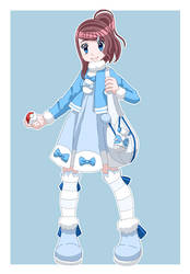 [Request] Halay The Pokemon Trainer by SlodkaMarysia123