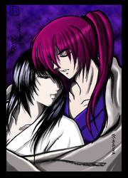 Kenshin and Tomoe-for Ketty