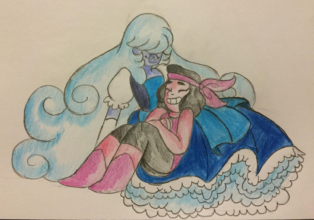MORE OF THE RUBY AND SAPPHIRE!     Steven Universe (c) Rebecca Sugar