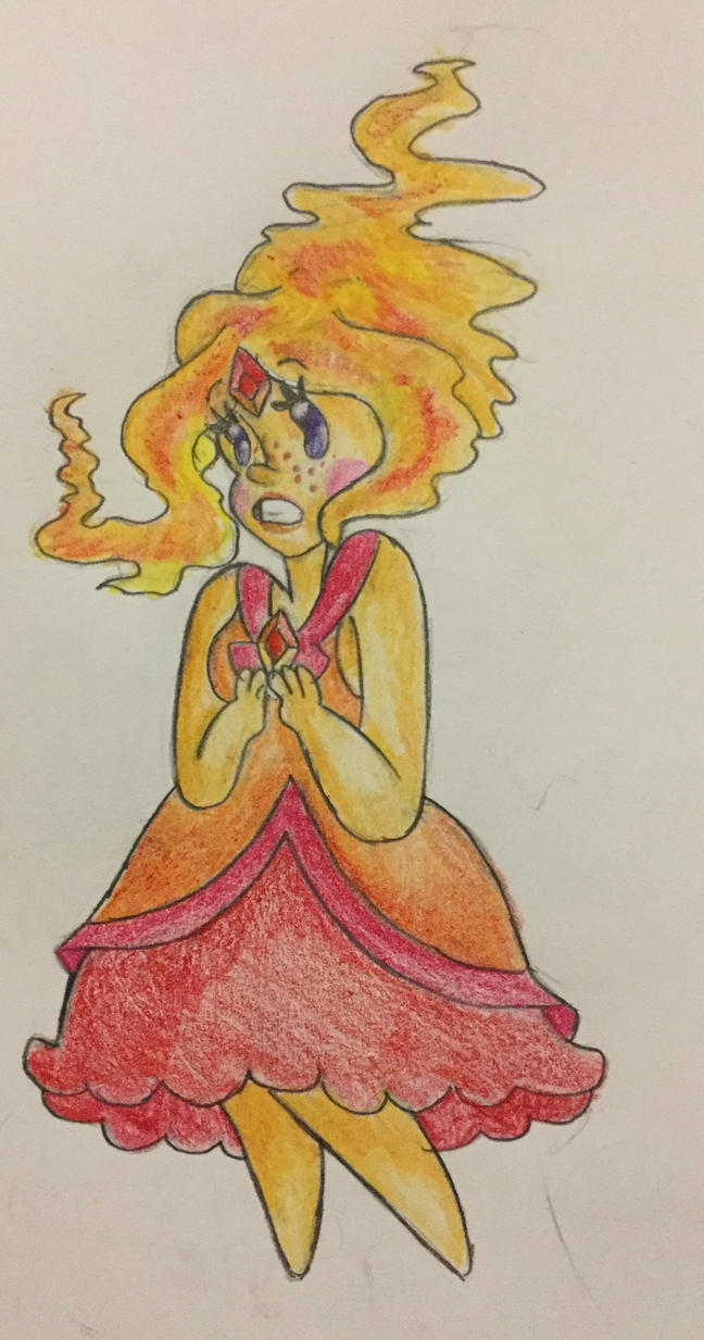 Flame Princess by MsCreepyPlagueDoctor