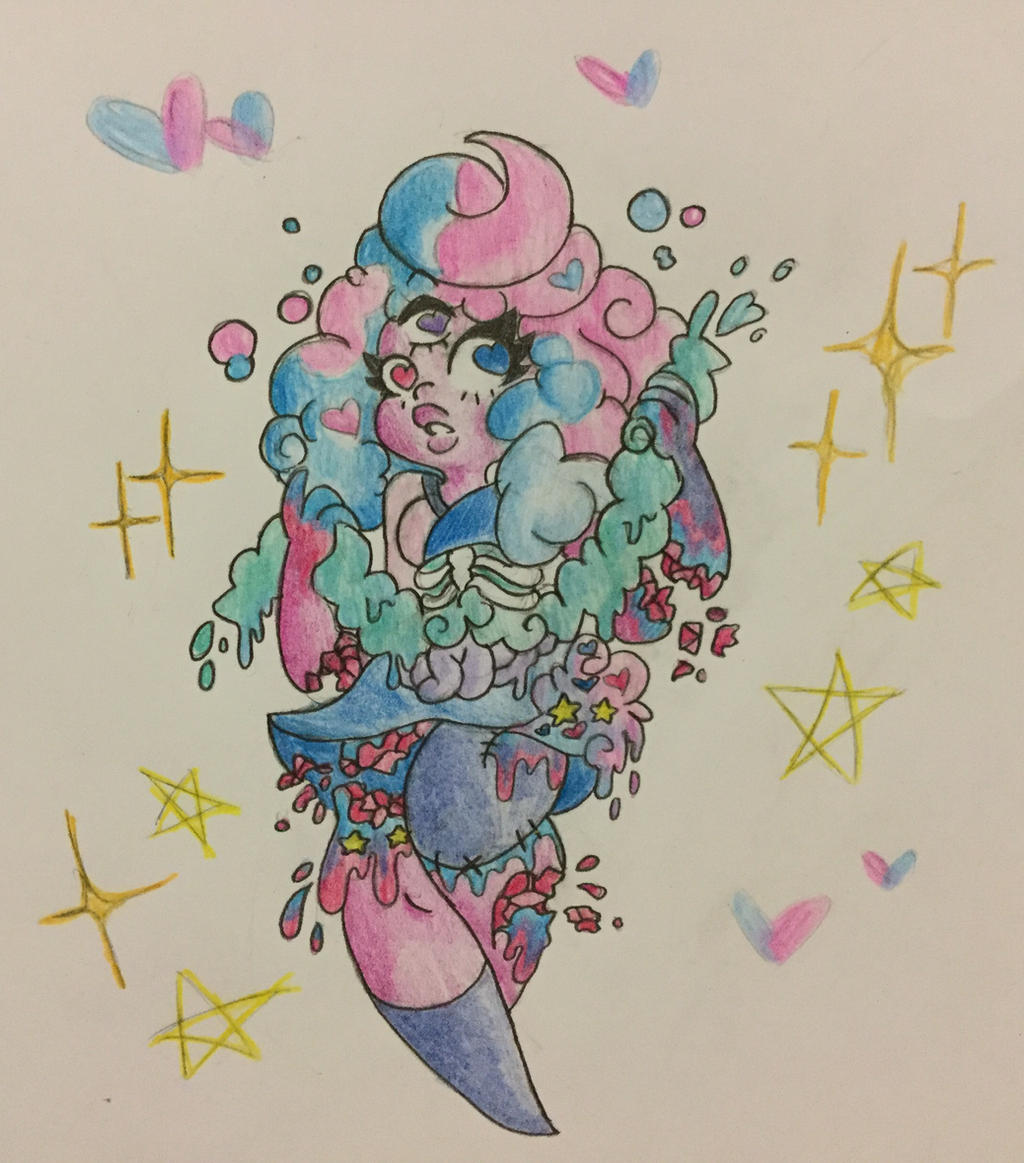 Candy Gore Cotton Candy Garnet By Mscreepyplaguedoctor On Deviantart Lots of teeth, lots of tongue! candy gore cotton candy garnet by
