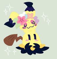 Mimikyu by MsCreepyPlagueDoctor
