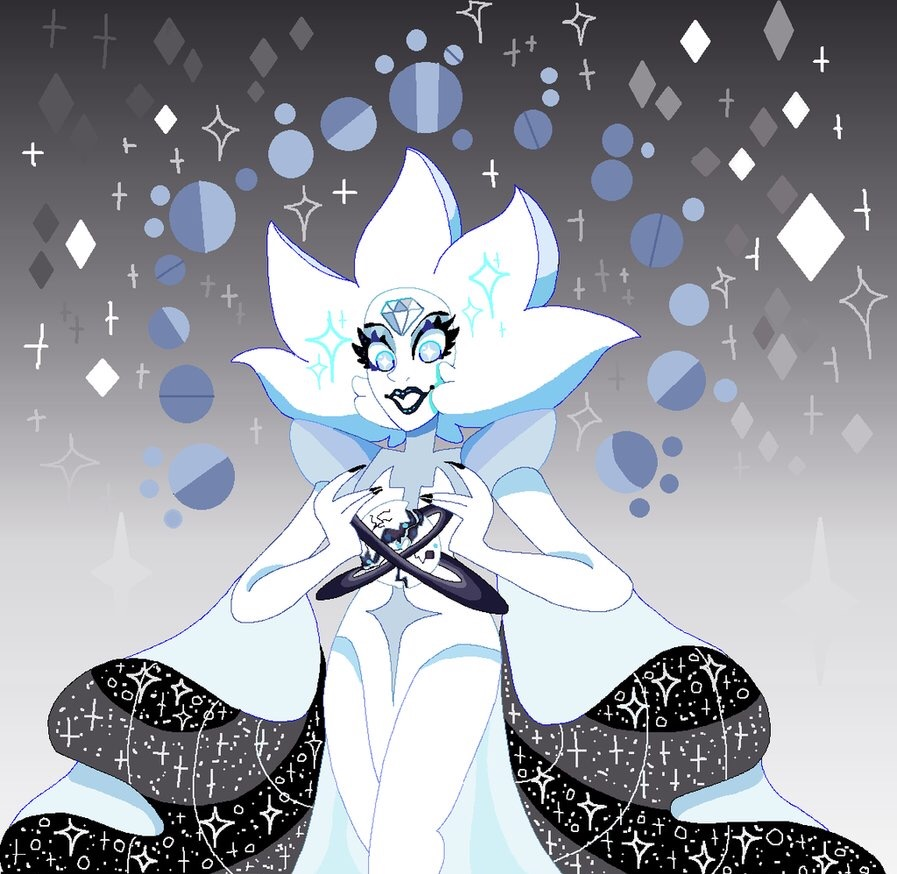 Since the episode came out I decided to try and draw White Diamond again  I can draw backgrounds hnnnh m terrible   Steven Universe (c) Rebecca Sugar