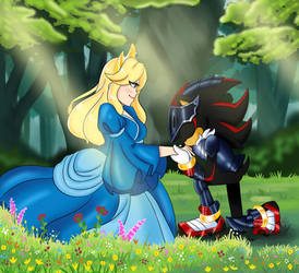 Sir Lancelot and Lady Maria