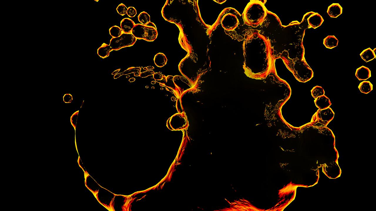 glowing liquid wallpaper by tanoshi3d on deviantart