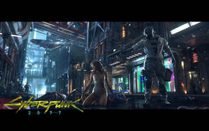 Cyberpunk 2077 Wallpaper by DarkangelUK