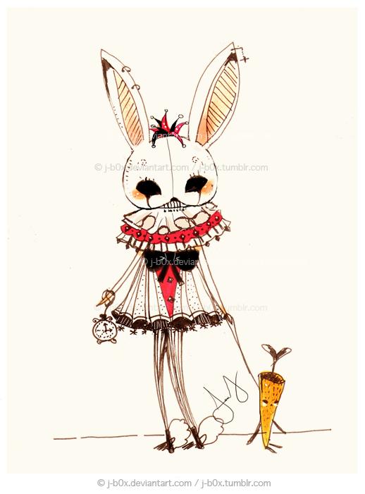 The White Rabbit by j-b0x on DeviantArt - photo#20