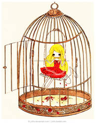 Commission: Bird Caged by jb0xtchi