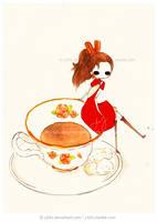 On a Teacup by jb0xtchi