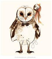 Ze Barn Owl by jb0xtchi