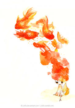 Le Goldfishies in my Brain