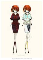 Tonal Value in Fashion by jb0xtchi