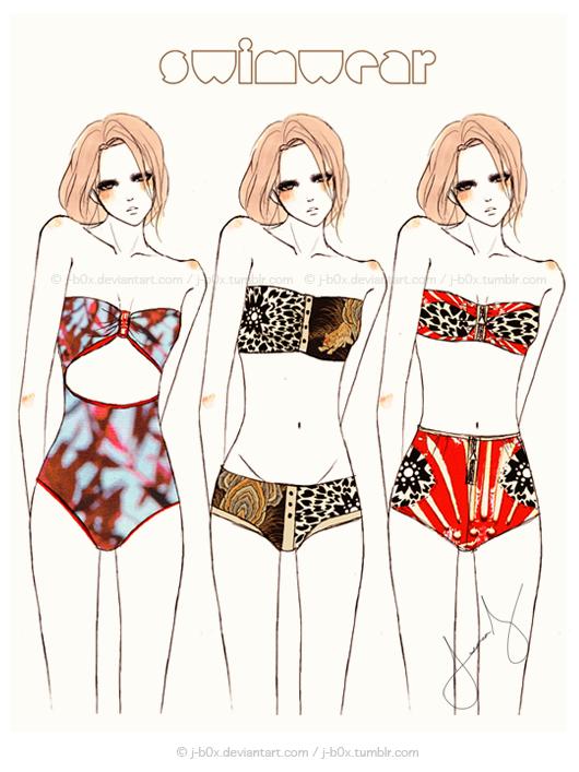 Swimwear Range by j-b0x