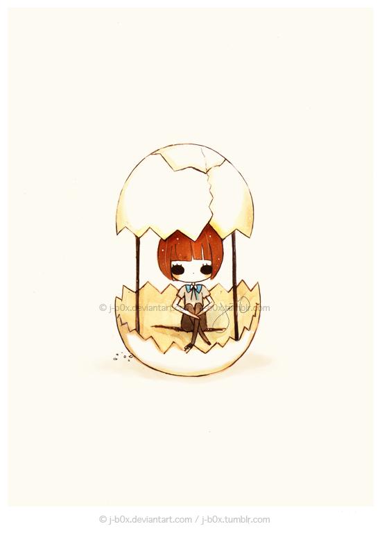 Fragile Prison Humpty Dumpty by j-b0x