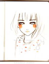 Orange Cheeks by jb0xtchi