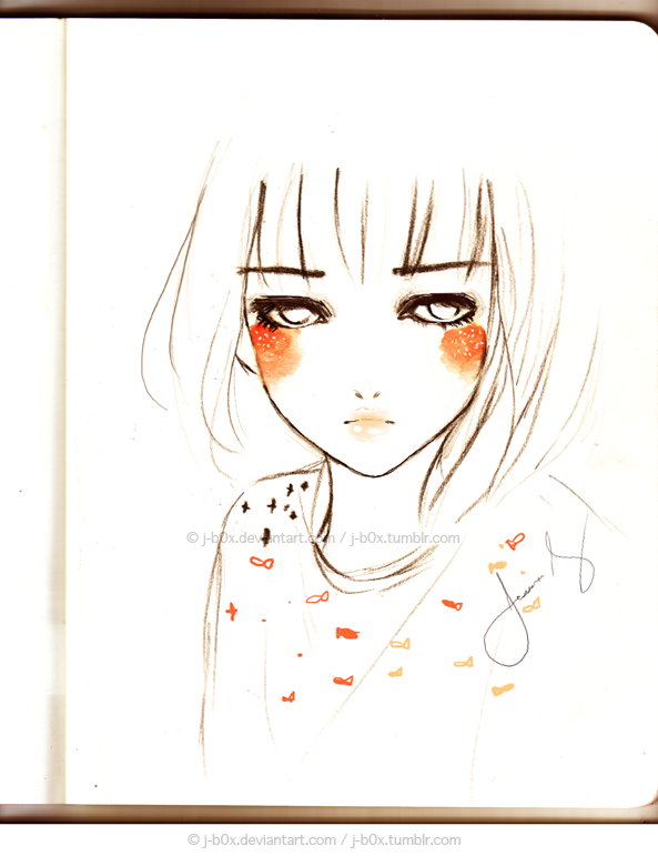 Orange Cheeks by j-b0x