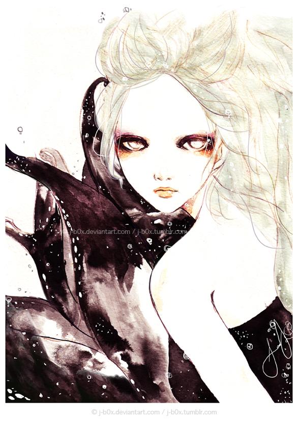 Ursula the Beautiful by j-b0x