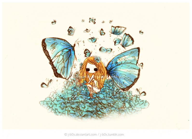 Enchanted Blue by j-b0x
