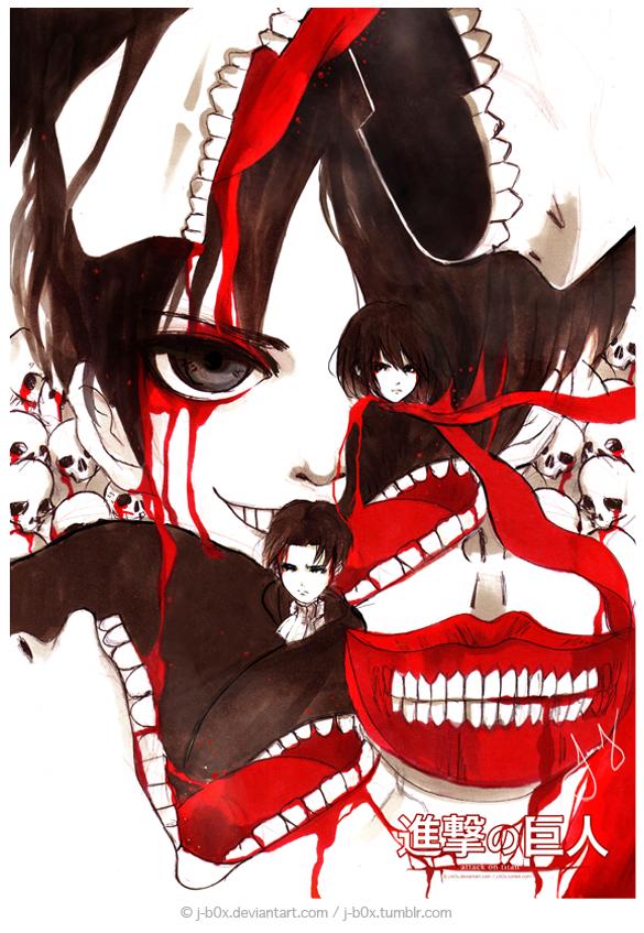 Shingeki no Kyojin by j-b0x